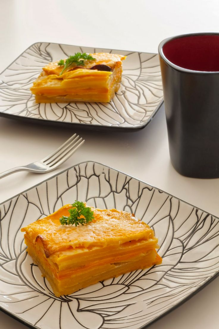 Root Vegetable Gratin | Down the Hatch | Pinterest