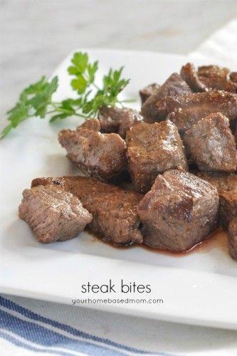 Steak Bites | Recipe