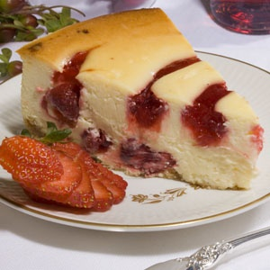 Strawberry Swirl Cheesecake | Desserts and Sweets | Pinterest