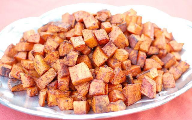 Cinnamon Chile Sweet Potatoes | Potatoes | Pinterest