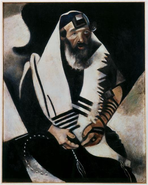Portrait du rabbin de Vitebsk - Chagall
