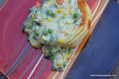 Inside Out Chicken Pot Pie | Food | Pinterest