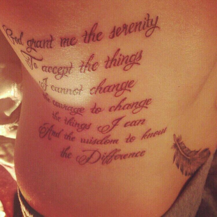 Narcotics Anonymous Tattoos Narcotics anonymous