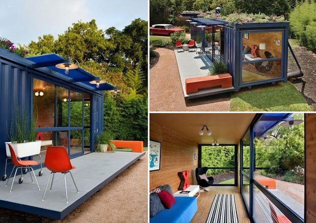 Zeecontainer huis container huizen pinterest - Huis in containers ...