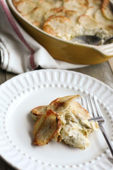 Artichoke, Leek and Potato Casserole from Good Life Eats. http ...