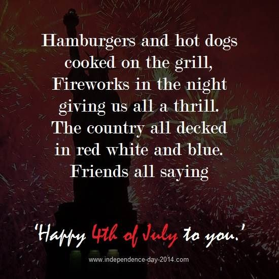 july 4th poems quotes