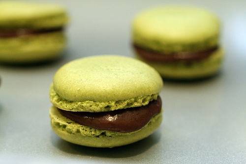 Green Tea Macarons | Macaron Madness | Pinterest