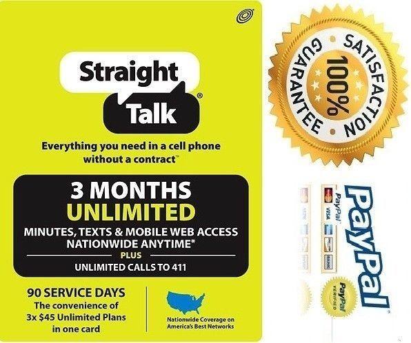 Straight Talk Unlimited Refill Card