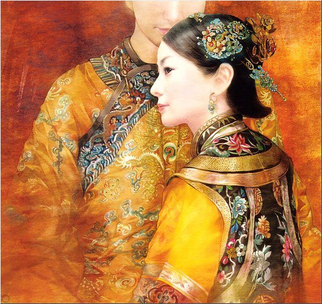 Chinese Beauty by Der Jen (Dezhen)