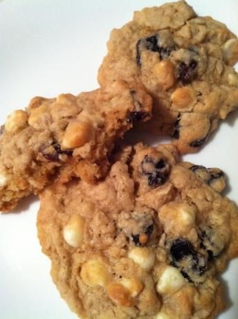 Dried Cherry and White Chocolate Oatmeal Cookies...I use craisins ...