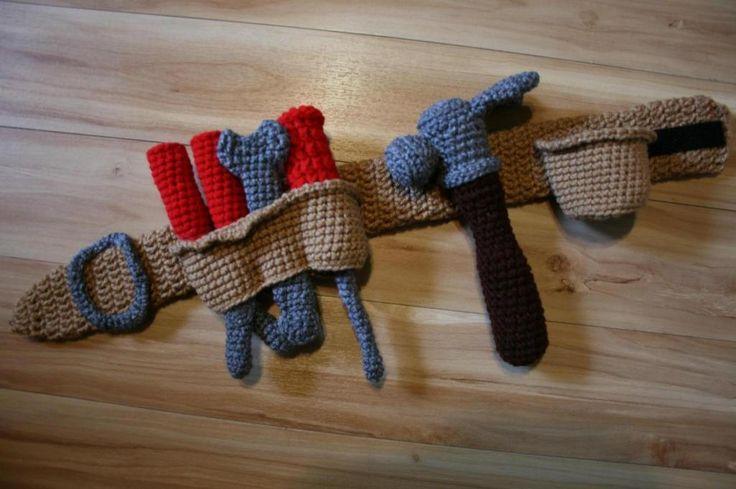 BBB Crochet Tool Belt Crochet Pinterest
