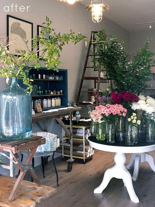 Flower Shop Design Ideas Flower Shop Booth Set Up And Display Ideas Pinterest