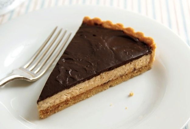Chocolate-Peanut Butter Mousse Tart | 27 Incredible No-Bake Desserts