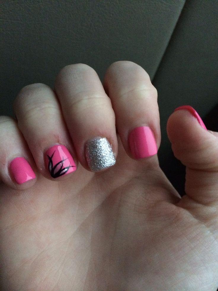 short acrylic nails beauty pinterest