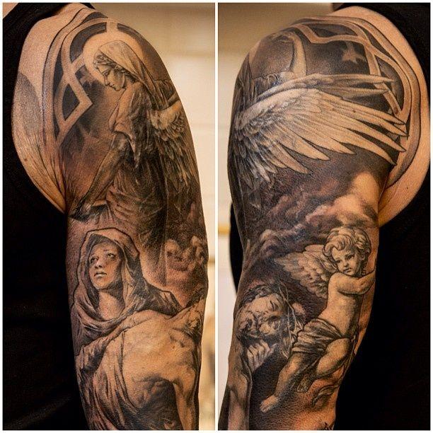 Cherub Angel Tattoos