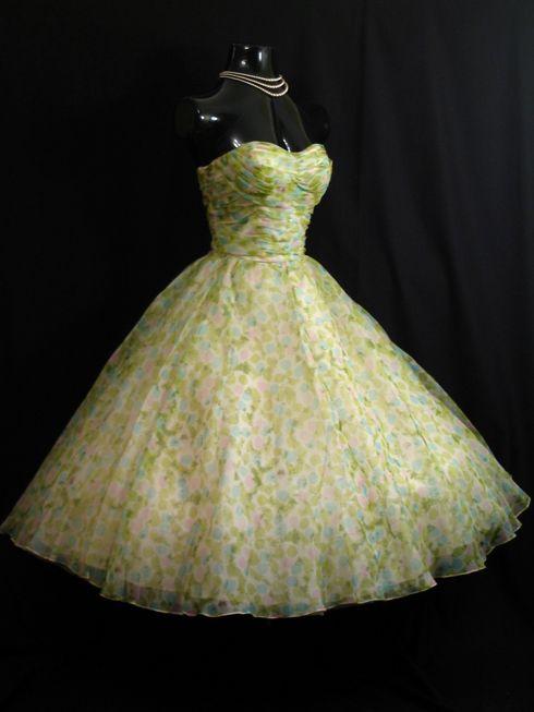 Vintage vortex 50s prom dresses l love these kinds of dresses