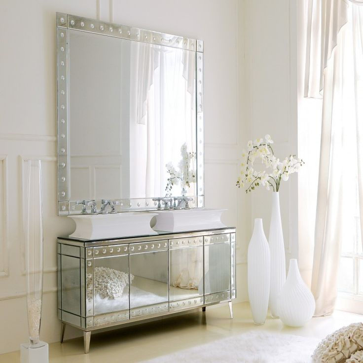 Pin by jennifer lyn on design silver rooms pinterest for Luxury italian bathroom accessories