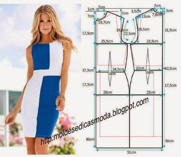 Кройка и шитьё своими руками платье