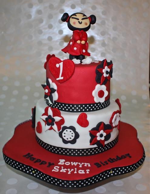 -: PUCCA CAKE