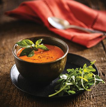 Roasted Red Pepper & Sweet Potato Soup | Vegan Soup, Stew, Chili, Cur ...