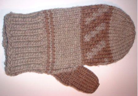 Knitted Balls Pattern : LOPI MITTEN PATTERN from Quanah Knitting Pinterest