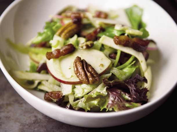 Apple Vinaigrette by food52 via seriouseats: Bacon, apple fennel salad ...