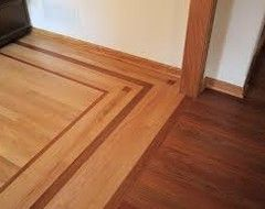 2 different color wood floors wood floors pinterest