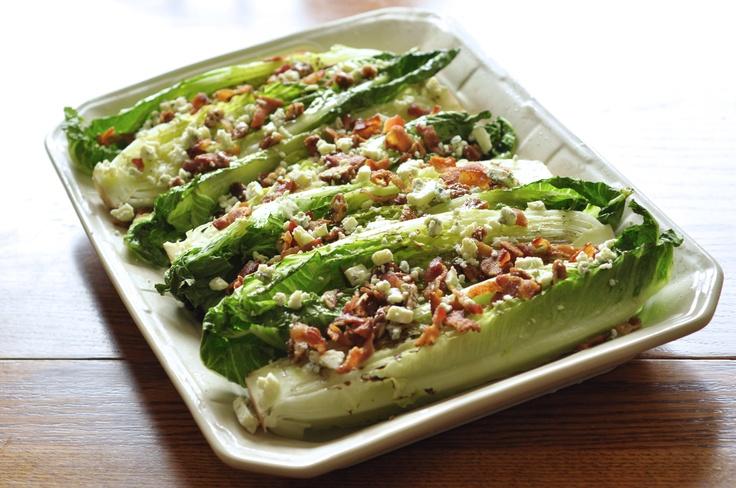 Grilled romaine salad. Looks good!   YUM! Salad Recipes   Pinterest