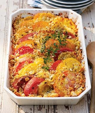 Heirloom Tomato Gratin | Recipe