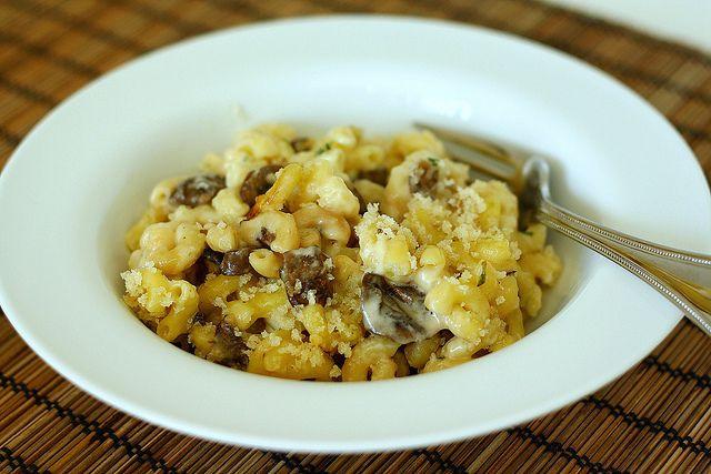 Mushroom Herb Macaroni & Cheese | Mac and Cheese | Pinterest