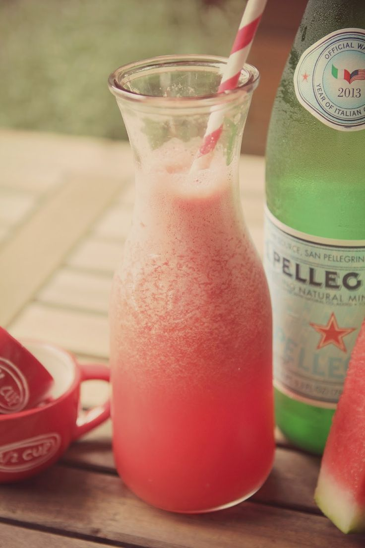 Rustic Peach: Sparkling Watermelonade | Best of Free for all Fridays ...