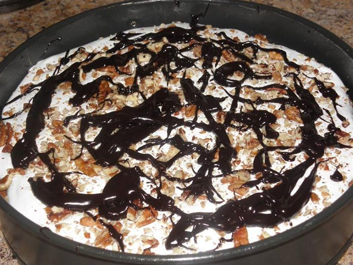 Mississippi Mud Cheesecake: Melt the chocolate chips in the warmed ...