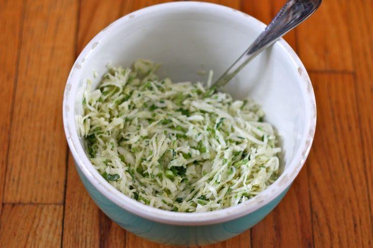 Miso-Lime Coleslaw   recipes: vegetables   Pinterest