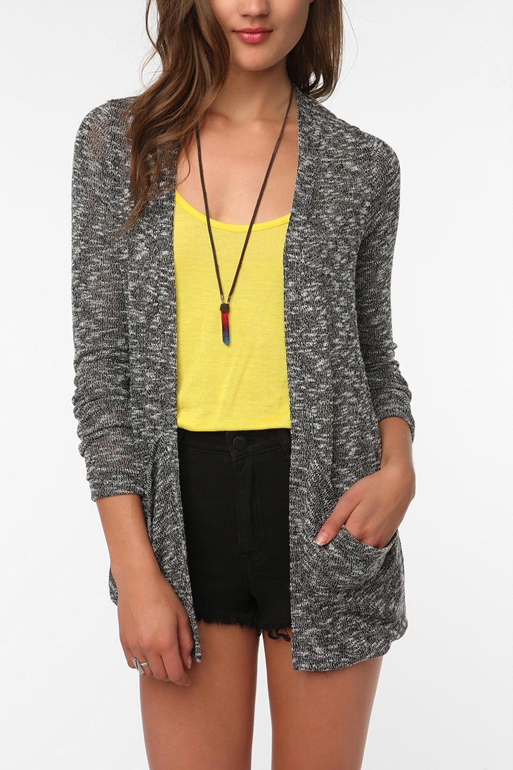 "Sparkle & Fade Drape Pocket Cardigan -- ""Uber soft material and an even better shape."""