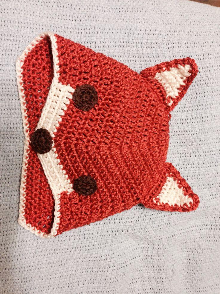 Crochet Fox Hat : Crochet Hats