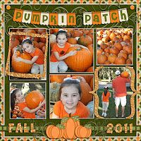ladies leather bags Pumpkin Patch Layout  Scrapbooking