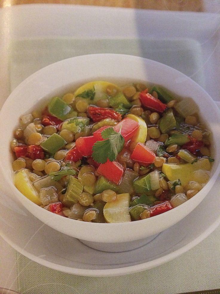 Moroccan Lentil & Vegetable Soup | Delicious Eats | Pinterest