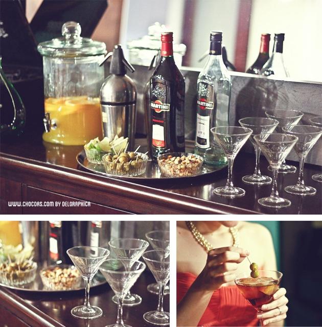 Fiesta Mad men & martini | Mesas especiales | Pinterest