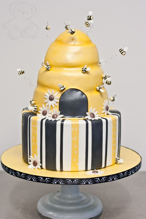 bumble bee cake bumble bee baby shower cake dream day cakes
