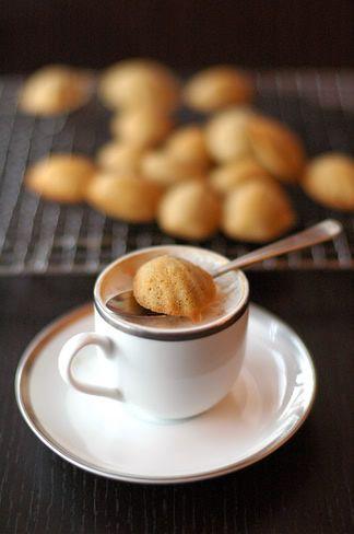 SHF #11: vanilla coffee madeleines and warm mocha tarts