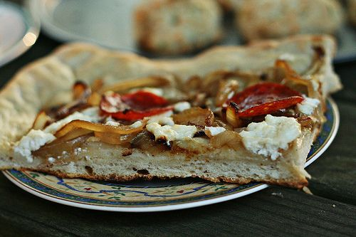 Savory Blueberry Ricotta Pizza Recipe — Dishmaps