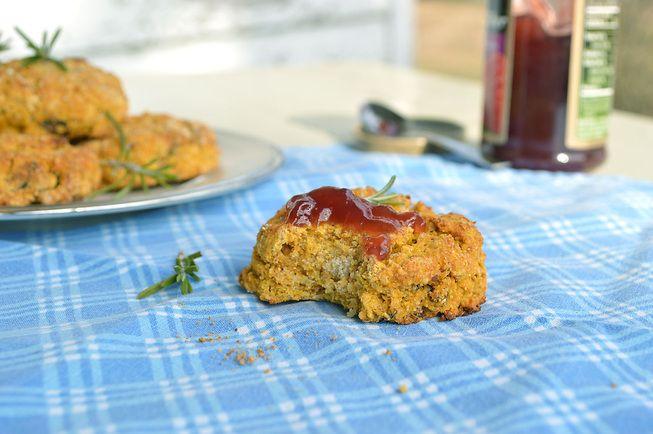veg soup & sweet potato biscuits | Vegan Savory Yummies | Pinterest