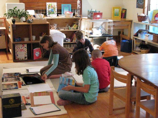 Elementary Classroom Setup ~ Elementary montessori classroom setup