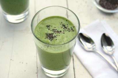 Spinach Mango Coconut Kiwi & Banana Smoothie | Tasty Kitchen: A Happy ...