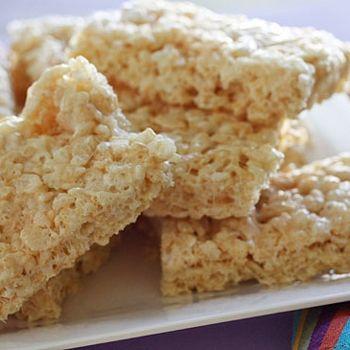 Low Fat Rice Krispy Treats | Fabulous food ideas | Pinterest