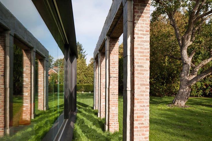 DMOA renovates old hunting refuge la branche in belgium
