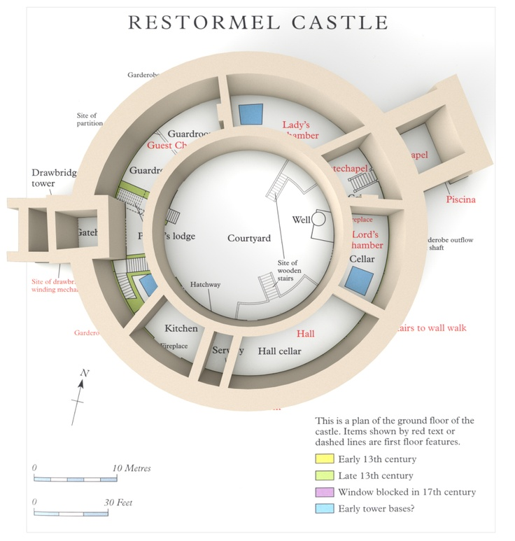 Restormel Lost In Castles amp Such Pinterest