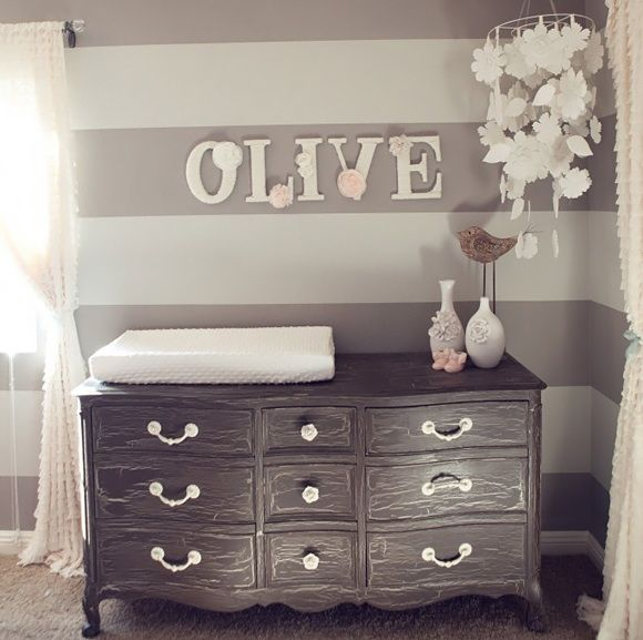 Pin by bien tre sauvane on chambre b b d coration - Collection chambre bebe fille ...
