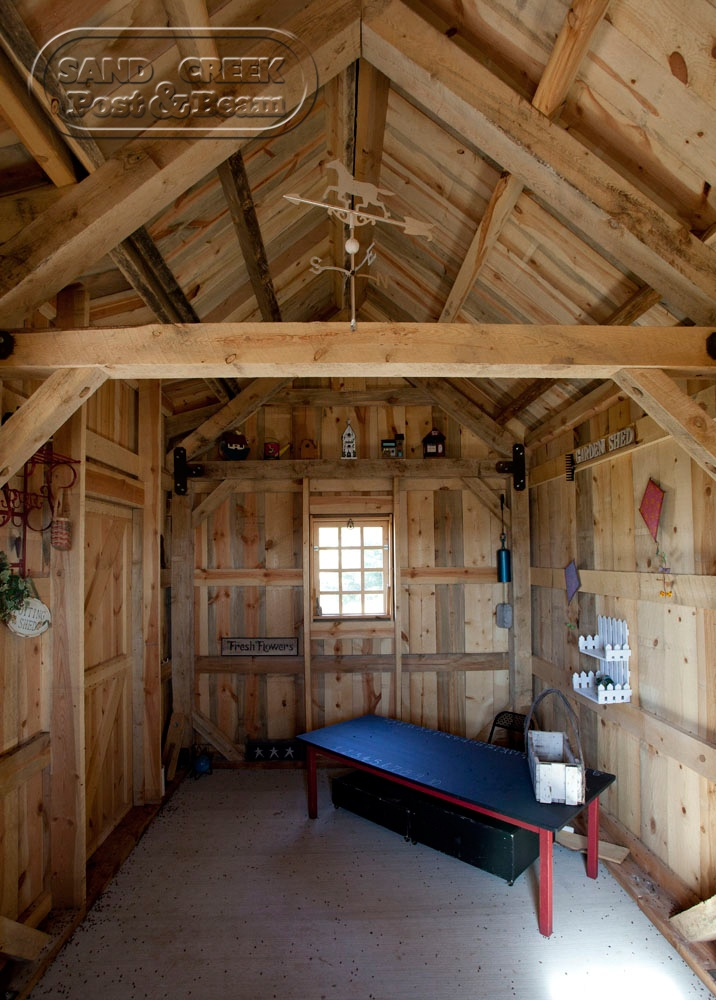 interior of garden shed pool house pinterest