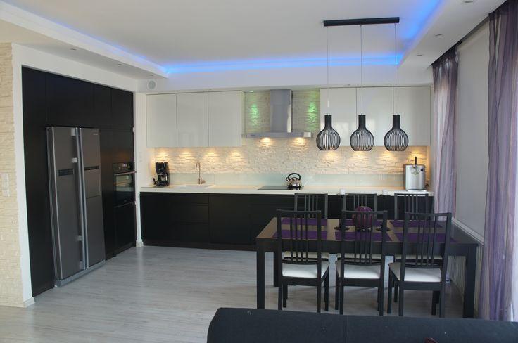 Pin by Ola Lewczuk on Just beautiful kitchen!  Pinterest -> Kuchnia Na Poddaszu Na Wymiar